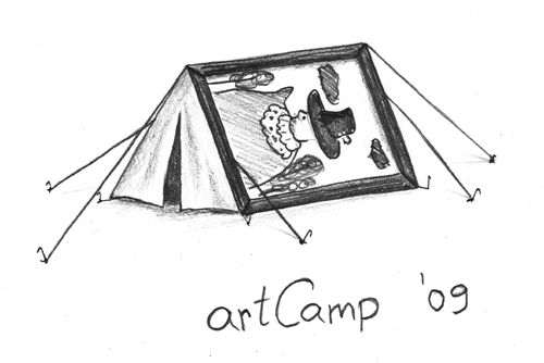 artCamp - telts