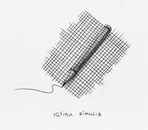 rūtiņu zīmulis