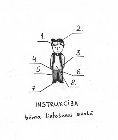 Instrukcija bērna lietošanai skolā